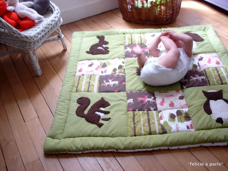 tapis d'éveil - roulade
