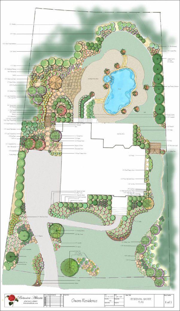 landscape plans ideas
