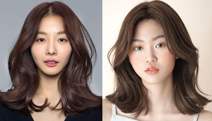 16++ Korean shoulder length hairstyles 2020 ideas