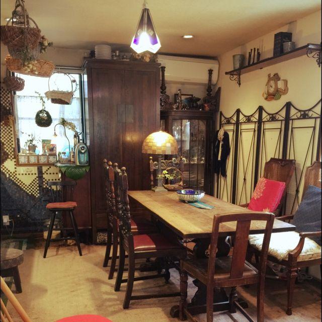zizblueさんの、DIY,照明,アンティーク,ハンドメイド,Kitchen,のお部屋写真