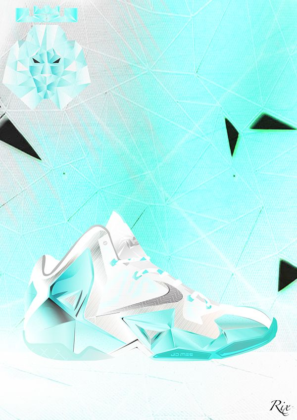 LEBRON XI  by Riccardo Ferro, via Behance