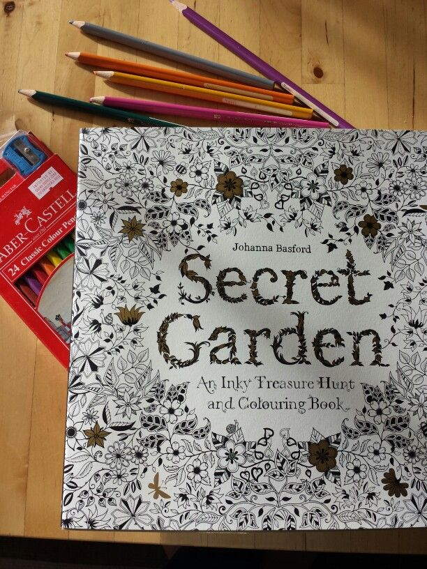 Colouring book for grown-ups who wants to live in the moment.