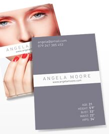 Preview image of Business Card design 'Model'