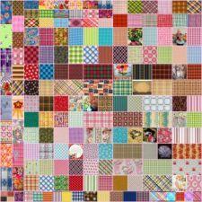 Plaid Collage 31 (400 pieces)
