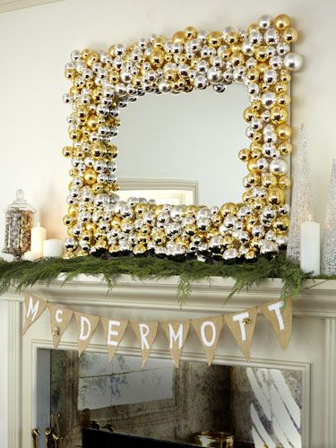 DIY Holiday Decor by @Tori Spelling You'll Never Want to Take Down