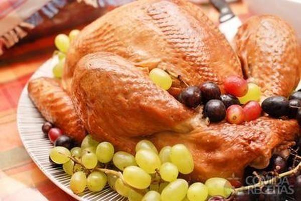 Receita de Peru assado em receitas de aves, veja essa e outras receitas aqui!