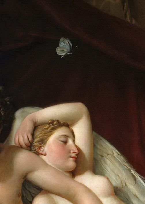cupid psyche Jacques louis david and