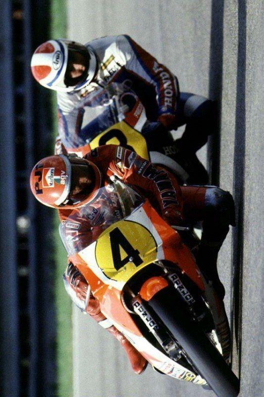 Kenny Roberts Sr Vs Freddie Spencer 500cc Imola 1983