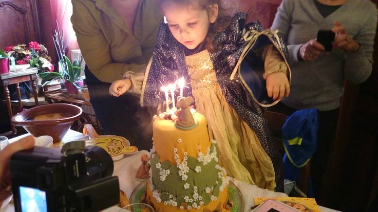 Les 3 ans d'une Princesse - Anniversaire Roi Lion - Partie 2 : Le Gâteau