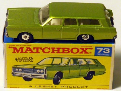 There's just something cool about vintage Matchbox cars in the original box.
