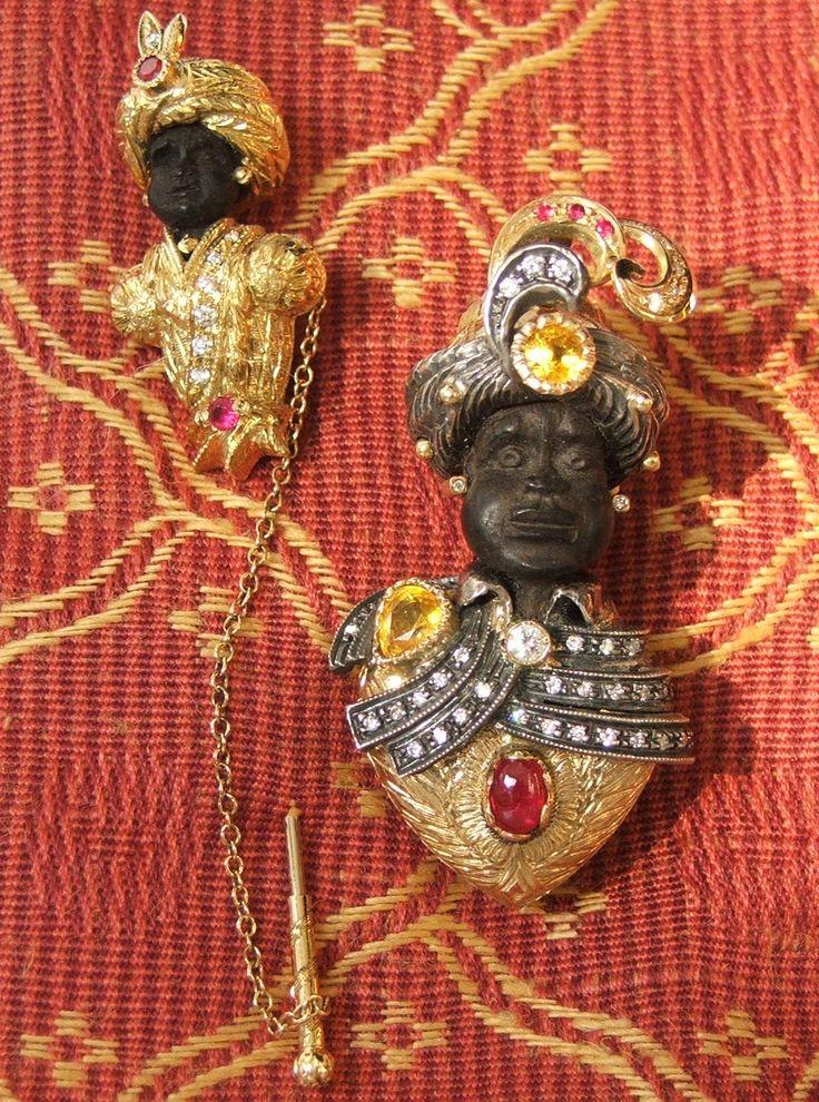 Black Moors - made by Novecento Gioielli (Padova - Italy)