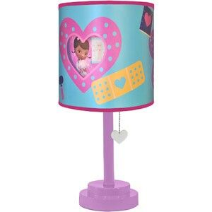 Doc McStuffins Lamp From Walmart