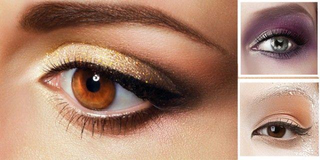Trucco #occhi: Cominciamo dagli occhi marroni e verdi, due colori che spesso si mescolano nell'iride donandoci sfumature spettacolari.