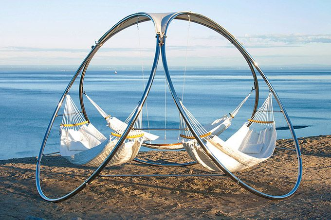 Triple Hammock: Transform a Single Hammock Into a Place for Relaxing With Others