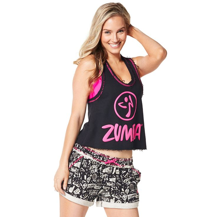 GET LOOSE IN THE CITY CROP TOP - BACK TO BLACK ------------ Take a break from the grind in the Get Loose in the City Crop Top.  Featuring a soft French Terry fabric and slightly cropped silhouette, this top is a total showstopper. Zumba Tank.