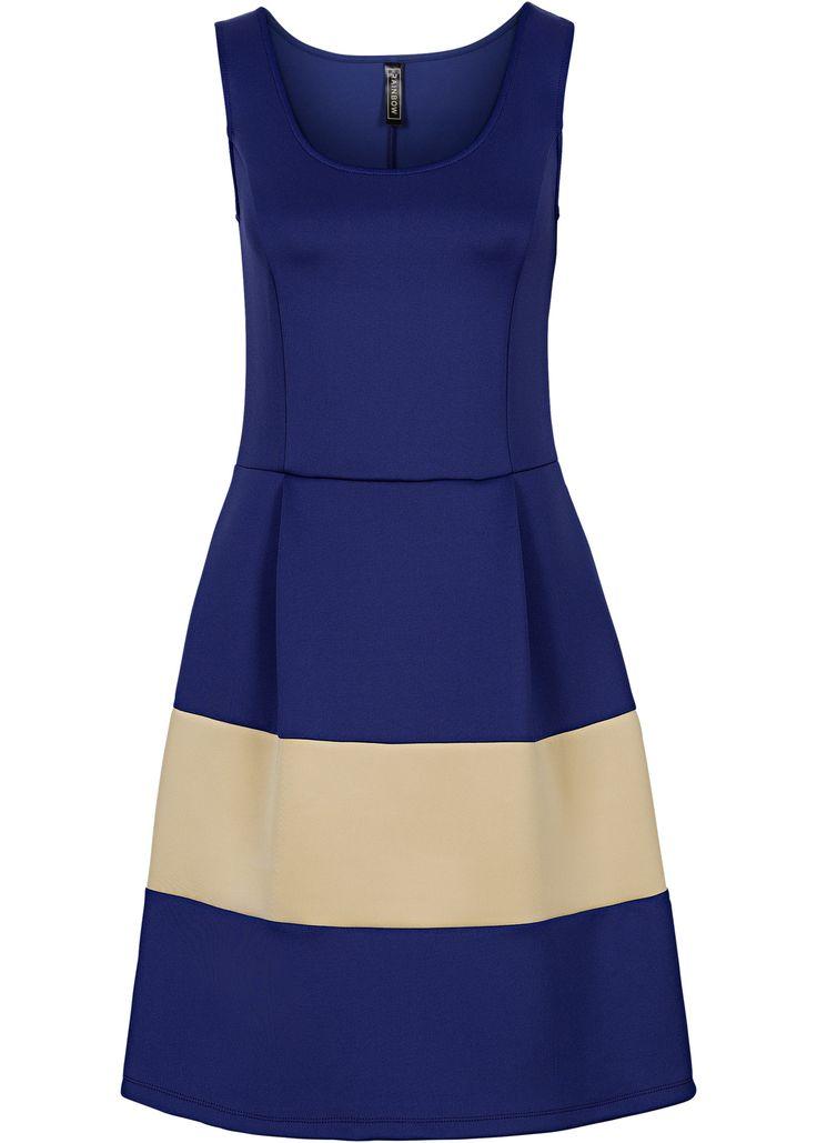 Bekijk nu:Casual chic voor de zomer! Modieuze jurk van een actueel materiaal in neopreenlook. Met een kleurige inzet in de rok. Lengte in mt. 36/38 ca. 90 cm.