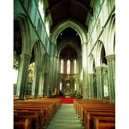 St Marys Cathedral Kilkenny City Co Kilkenny Ireland Canvas Art - The Irish Image Collection Design Pics (13 x 17)