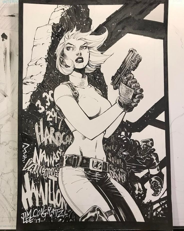 "7,461 Likes, 28 Comments - Jim Lee (@jimleeart) on Instagram: ""A happy engagement gift of Abbey Chase for our dear friends @tanlehoux and Danger Girl cocreator…"""