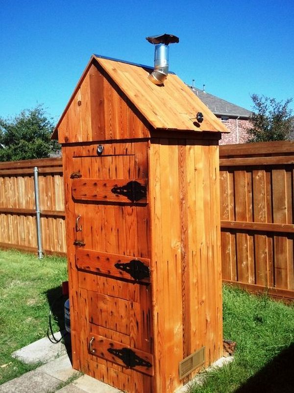 Large Wooden Smokehouse   Wooden Thing