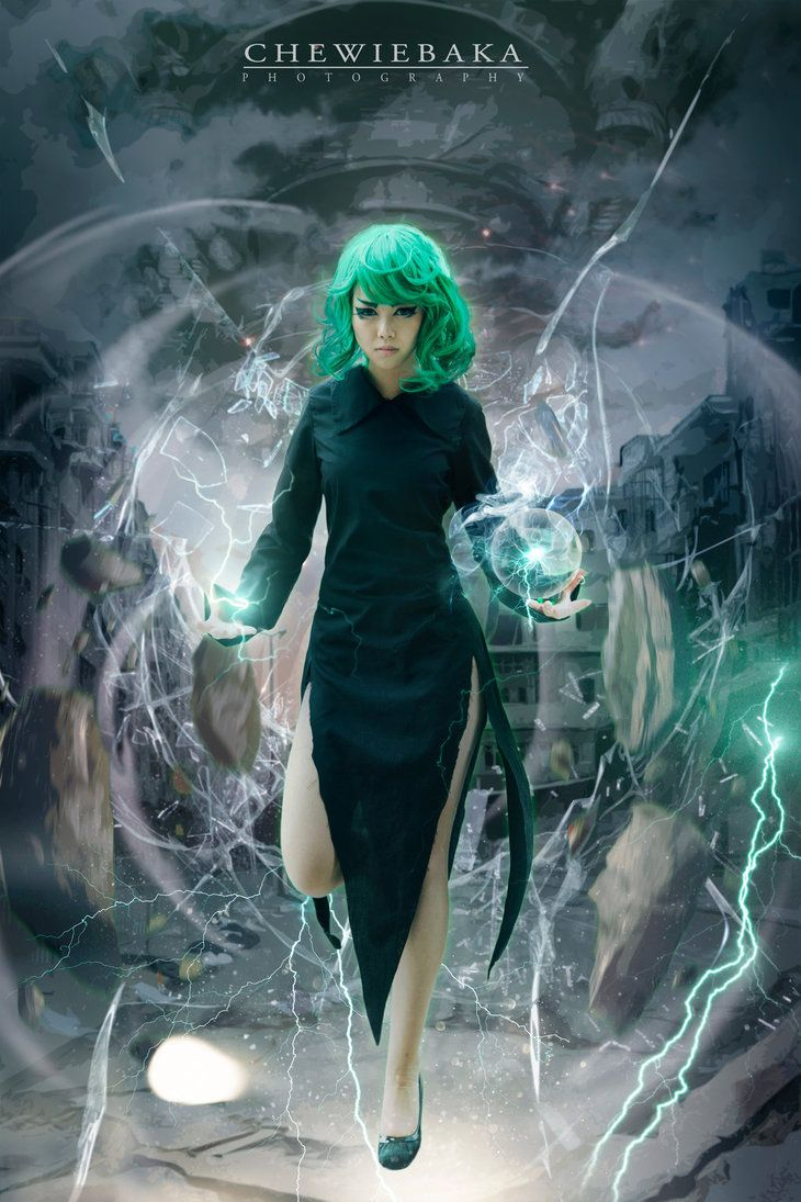 One Punch Man:Tatsumaki CN: Miku Hall www.facebook.com/CV01.Cosplays…