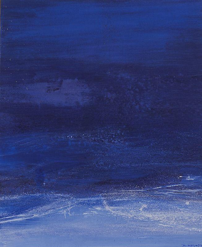 "Zao Wou-Ki ""Hommage à Jean"" 2006"