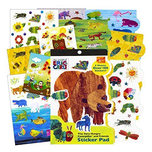 Eric Carle Sticker Set * To view further for this item, visit the image link. Note:It is Affiliate Link to Amazon.