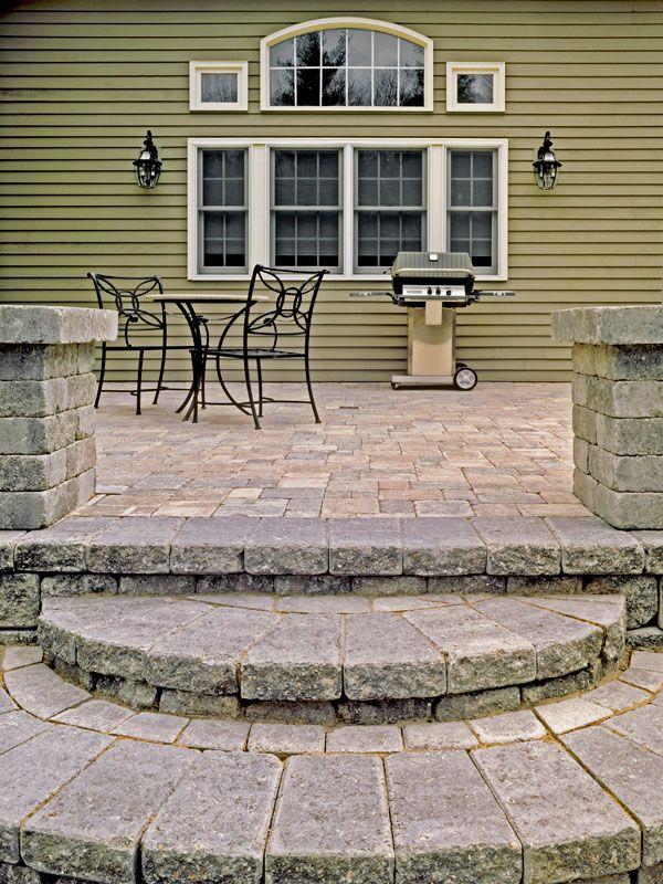 Best 30 Best Images About Paver Steps On Pinterest Concrete 400 x 300