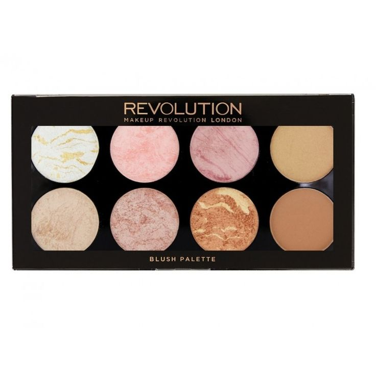 Revolution Make-up Blush & Contour Palette Goldener Zucker   – Vanity