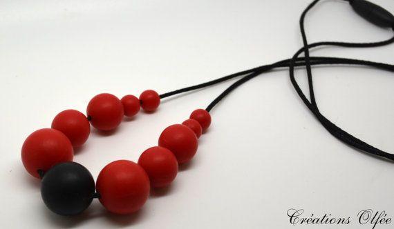 Collier silicone  collier allaitement  collier par CreationsOlfee