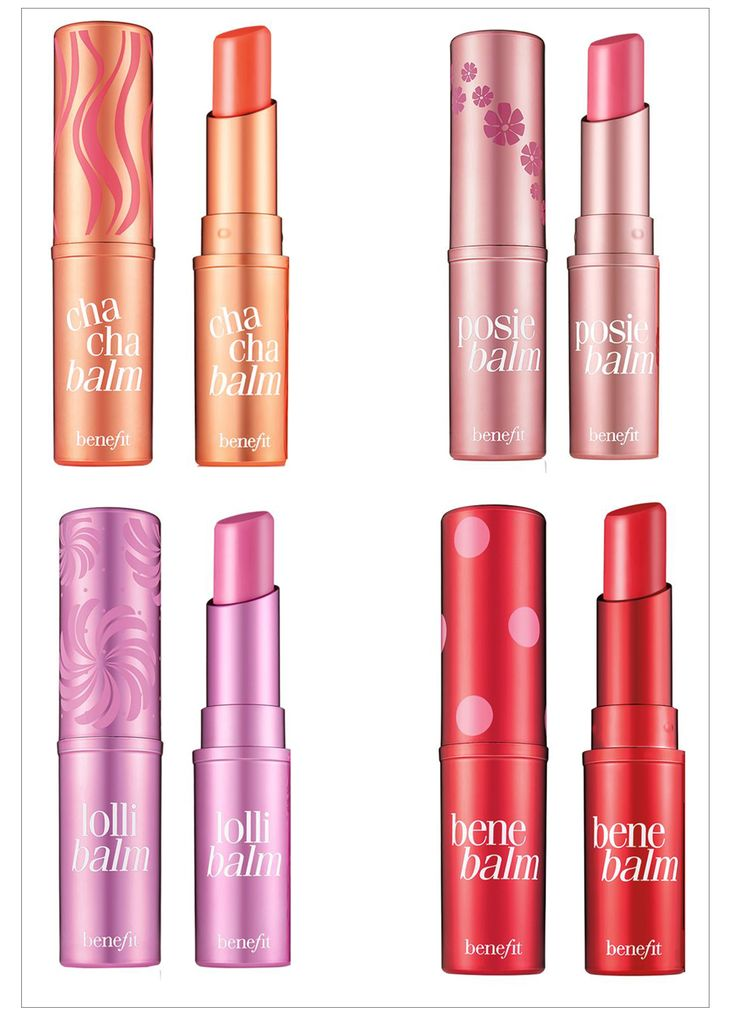 Benefit Cosmetics Tinted Lip Balms