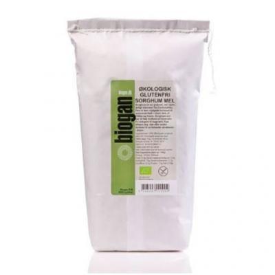 Køb Biogan Sorghum Mel glutenfri Ø - 1 kg ved Med24.dk