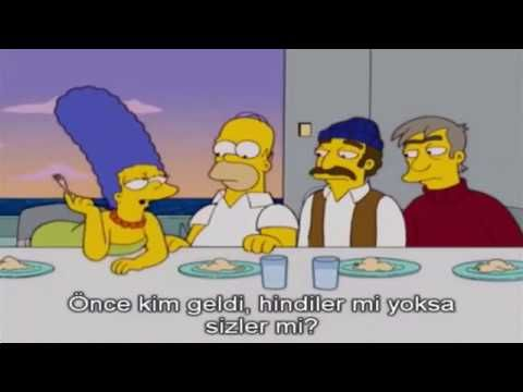 Simpsons   Türk Gemisinde  Türkçe Altyazılı