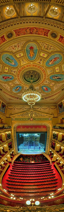 National Theatre of Prague, Czech Republic #prague #theatre #gold