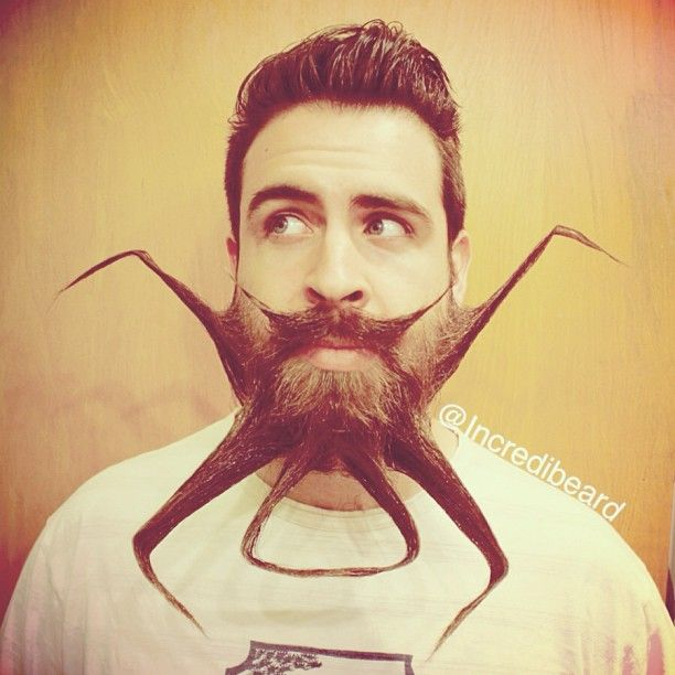 Best Staches Barbes Images On Pinterest Epic Characters - Mr incredibeard really coolest beard ever seen