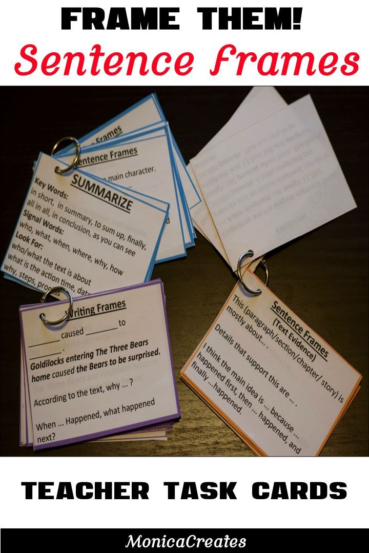 You saved to My TPT Store Are you ever stumped on how to prompt a student for a response? Do your students ever sit there without knowing how to respond verbally or in writing? Sentence frames are beneficial to all readers, writers, and all grade levels. Includes Topics Include: Sentence Frames for Comprehension Skills and Cognitive Reading Strategies  #reading strategies  #teacher her support #teacher #teaching #teachingreading
