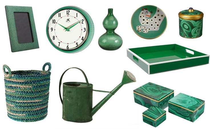 34 New Emerald Home Accessories from Katie Anderson of Modern Eve ...