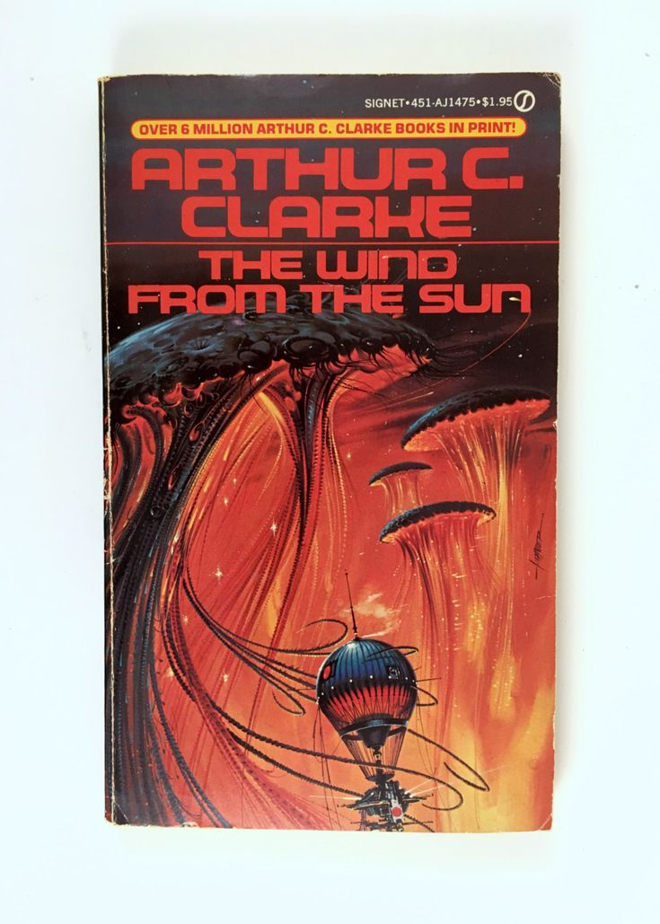 Vintage Science Fiction Book, The Wind from the Sun, Arthur C Clarke, First Printing, 1973, Signet Paperback, Short Stories by BarnabyGlenVintage on Etsy