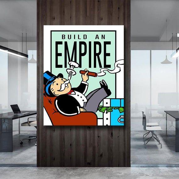 """Monopoly Build An EMPIRE"