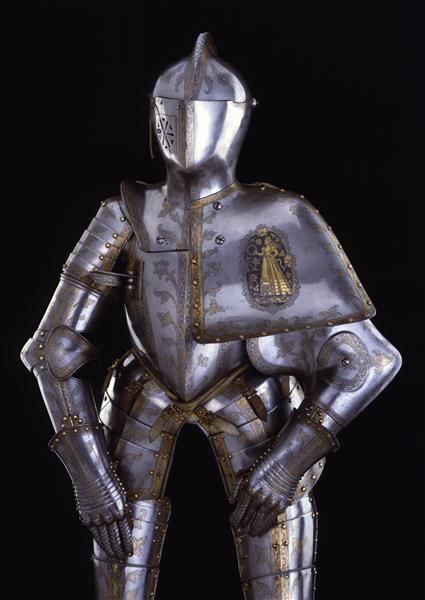 Tournament armor for the Welsche Gestech  Peffenhauser, Anton (manufacturer) Augsburg. 1588