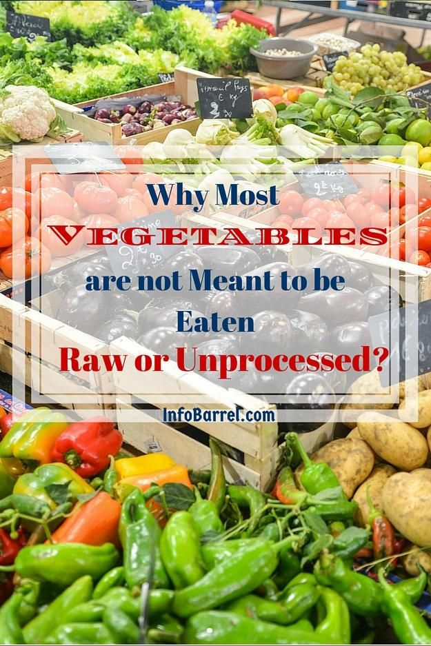 Why do we need to cook most vegetables? This article offers reasons on why it is best to consume both cooked and raw vegetables. It also offers some cooking methods to retain nutrients in your veggies