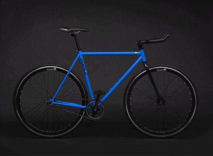 Matte Blue - Black Series - Mango Bikes