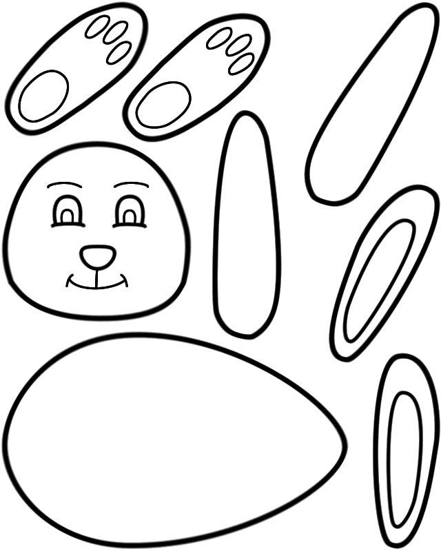 bunny - Kids Craft Templates