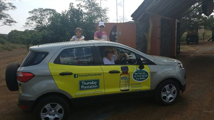 One of our #TeaTreeOil drivers getting paid to get the conversation started. #EarnExtraCash #BecomeFamous #BrandYourCar