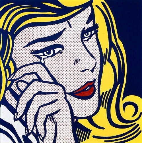 Roy Lichtenstein: Crying Girl