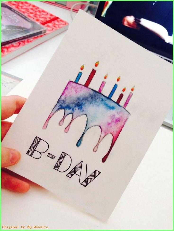 idée cadeau anniversaire 2019 – Geburtstagskarte  #birthdaygiftpinterest #CadeauAnniversaire…