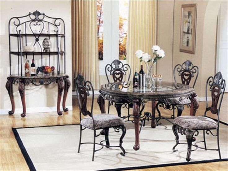 Kitchen: Excellent Small Glass Kitchen Table And Chairs Also Black Glass  Kitchen Table And Chairs