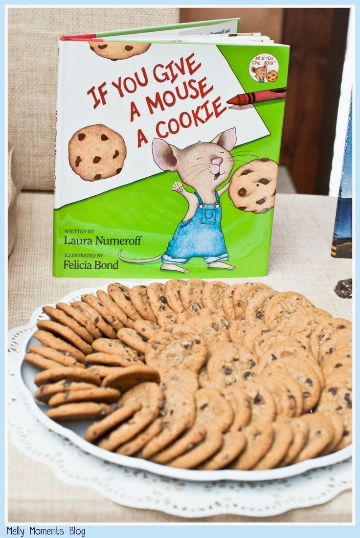 If You Give a Mouse a Cookie and other favorites help create this storybook themed baby shower! A gender neutral party with DIY decorations, free printables, and classic children's books to go along with a variety of tasty sweets and snacks!