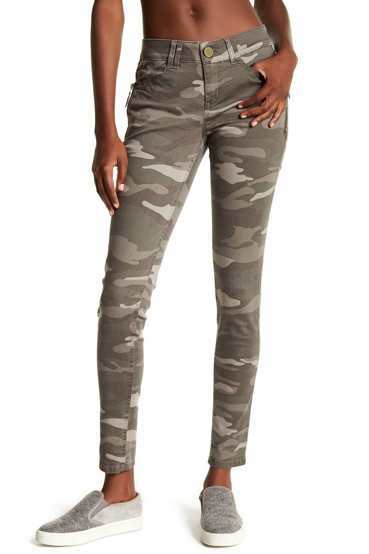 Ab Technology Camo Skinny Jeans by Democracy on @nordstrom_rack