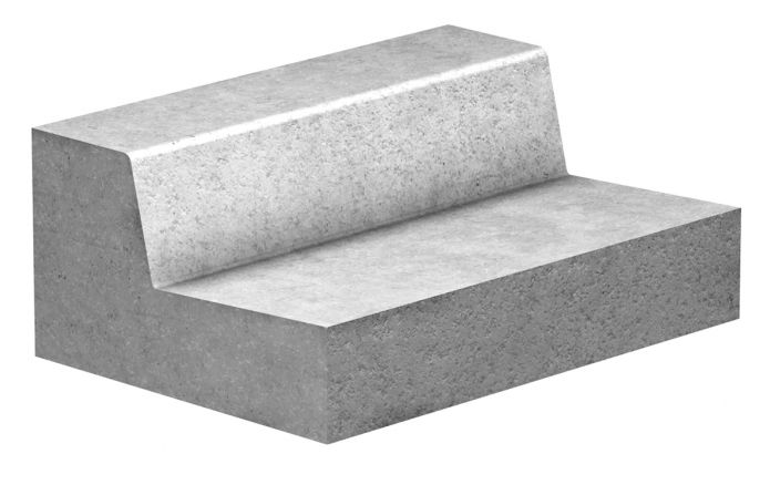 GLS Prefabricados de hormigón · Productos · Bordillo rigola