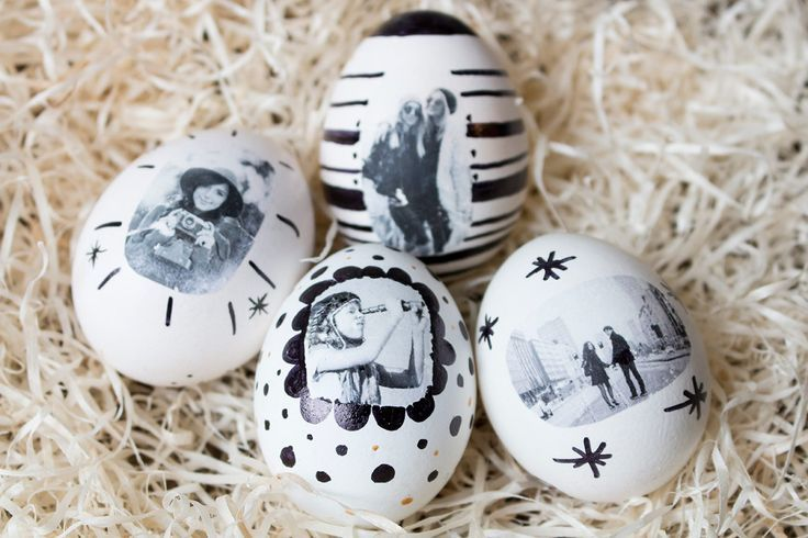 Photo eggs – make your own Easter eggs  #easter #photo